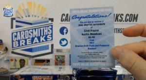 2013 Bowman Draft Picks & Prospects - Clint Frazier & Austin Meadows -