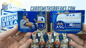 2013 Topps Triple Threads - Mike Napoli - All-Star Laundry Tag Booklet 1/1