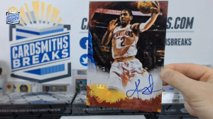 2013-14 Panini Court Kings - Kyrie Irving - Oversized Boxloader Auto #/25
