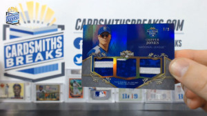 2013 Topps Triple Threads - Chipper Jones - All-Star Patches 1/9