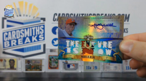 2013 Topps Triple Threads - Shelby Miller - Auto Triple Jersey/Patch Relic Sapphire Parallel 2/3