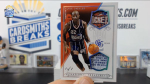 2013-14 Panini National Treasures - Clyde Drexler - NBA Game Gear Duals 1/1
