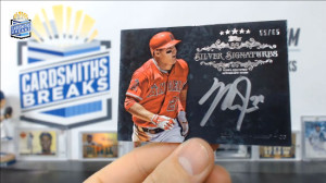 2013 Topps Five Star - Mike Trout - Silver Signatures 55/65