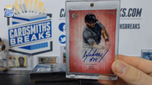 2014 Bowman Inception - Jose Abreu - Pink Auto 44/50