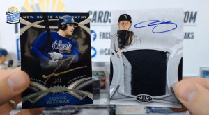 2014 Topps Tier One - Freddie Freeman - New Guard Auto 1/1 & Chris Sale Patch Auto 1/5