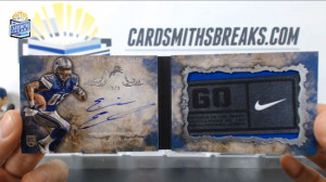 2014 Topps Inception - Eric Ebron - Auto Laundry Tag Booklet 5/5