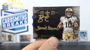 2014 Topps Inception - Brandin Cooks - Silver Signings Nickname Parallel 6/10