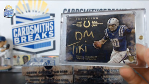 2014 Topps Inception - Donte Moncrief - Silver Signatures Nickname Parallel #/10