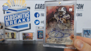 2014 Topps Inception - Sammy Watkins - Red Auto 14/50 - Jersey Number