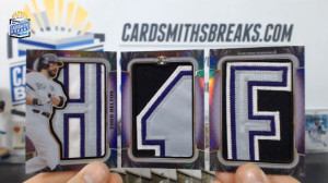 2014 Topps Triple Threads - Todd Helton - Jumbo Letter Patch Booklet 1/1