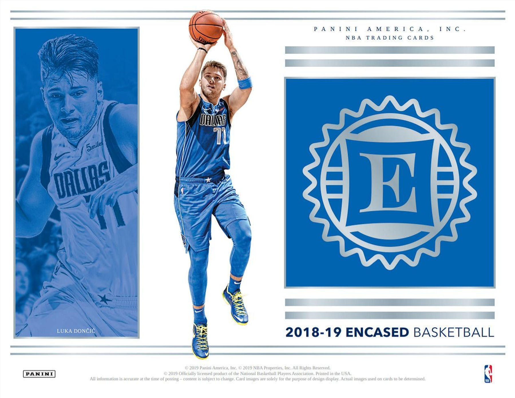 2018 19 Panini Encased Basketball 8 Box Case Break 3 Team